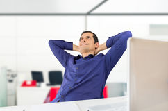 Relaxation and business Stock Photo