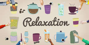 Relaxation Calm Chill Freedom Peace Rest Serenity Concept Stock Images
