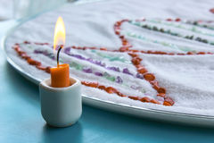 Relaxation Candle royalty free stock photography