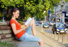 Relaxation in the city royalty free stock image