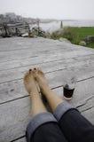 Relaxation d'été Images libres de droits