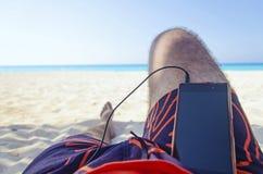 Relaxation d'été photographie stock