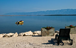 Relaxation on dalmatia Royalty Free Stock Images