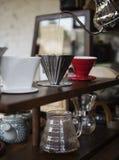 Relaxation de Cafe Caffeine Drink de barman de boisson photographie stock