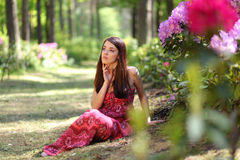 Relaxation de fleur photos libres de droits