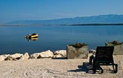 relaxation de la Dalmatie images libres de droits