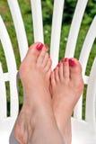 Relaxation de pattes Photographie stock libre de droits