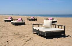 Relaxation de plage photos stock