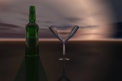 Relaxation de soirée Images stock