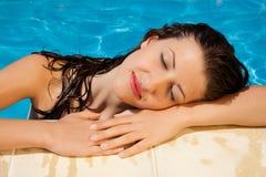 Relaxation de soleil Photo libre de droits