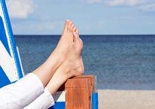 Relaxation de vacances image libre de droits