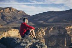 Relaxation en montagnes photographie stock