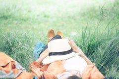 Relaxation et concept extérieur d'idée photo stock