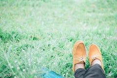 Relaxation et concept extérieur d'idée photos stock