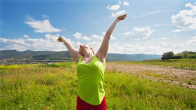 Relaxation Exercise Stock Images
