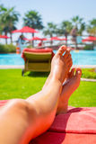 Relaxation on holidays Royalty Free Stock Images