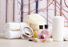 Relaxation items Stock Images