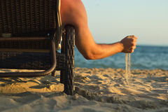 Relaxation lounges Royalty Free Stock Photos