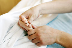 Relaxation massage Stock Images