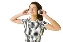 Relaxation music Stock Photography