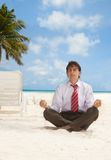 Relaxation for office worker Stock Image
