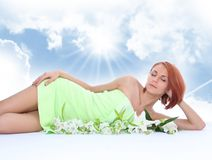 Relaxation outdoor Royalty Free Stock Images