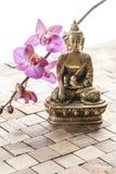 Relaxation pour la beauté intérieure Photographie stock libre de droits