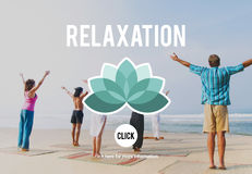 Relaxation Relax Chill Out Peace Resting Serenity Concept Royalty Free Stock Image