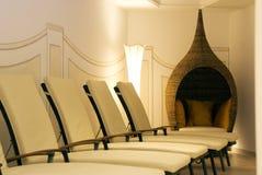 relaxation room spa Στοκ Φωτογραφία