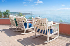 Relaxation by the sea Stock Image