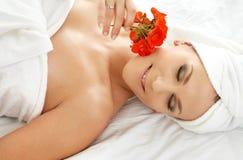 relaxation spa Στοκ εικόνες με δικαίωμα ελεύθερης χρήσης
