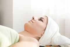 Relaxation at spa Royalty Free Stock Images