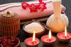 Relaxation Spa Concept Stock Afbeeldingen