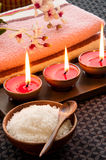 Relaxation Spa Concept Royalty Free Stock Images