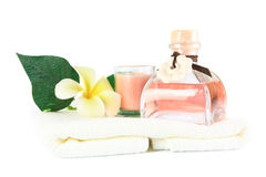 Relaxation spa set Stock Photography