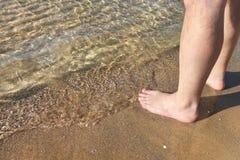 Relaxation sur la plage Images stock