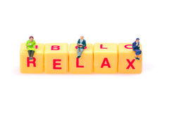Relaxation time Stock Photo