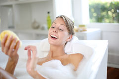 Relaxation time Stock Image
