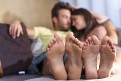 Relaxation together Stock Photography