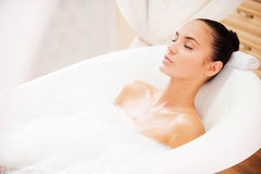 Relaxation totale Photo stock