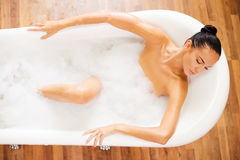 Relaxation totale Image stock