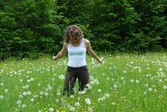 Relaxation verte Image libre de droits