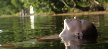 Relaxation in Water Stock Photography
