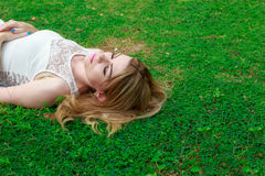 Relaxation Woman Royalty Free Stock Photo
