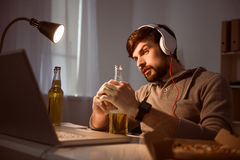 Relaxation after working day Stock Photos