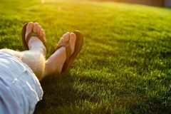 relaxation2夏天 库存照片