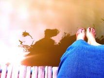 relaxe Foto de Stock Royalty Free