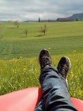 Relaxe Fotografia Stock