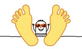 Relaxe & verão Imagem de Stock Royalty Free