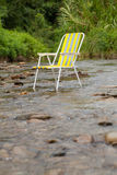 Relaxe a cadeira Foto de Stock Royalty Free
